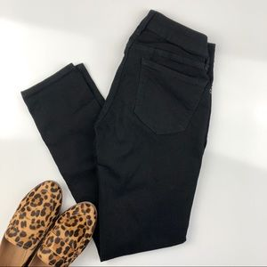 Old Navy Rockstar Skinny Jeans Black Sz 6 Regular